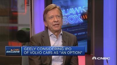 沃尔沃CEO:期待中国汽车市场的进一步开放