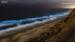 圣迭戈海滩绽放罕见蓝色荧光