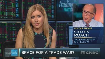 史蒂芬•罗奇:市场不应排除发生贸易战的风险
