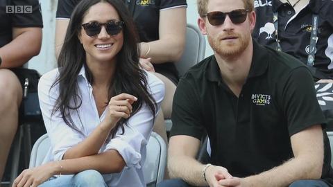 英国新王妃和哈里王子的爱情故事