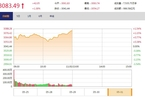 今日午盘:美股反弹避险情绪缓和 沪指大涨1.38%