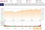 今日收盘:消费股爆发 沪指结束连阴上攻3100点