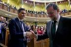 """西班牙首相下台 执政党因收受不法献金遭""""倒阁"""""""