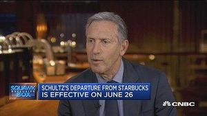 星巴克舒尔茨:除了选总统我还能做很多事