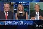巴菲特:医疗保健计划的CEO人选已确定