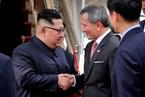 金正恩抵达新加坡 东道主力求中立
