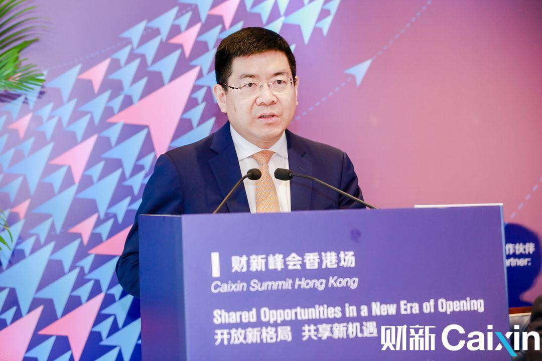 中国国际金融股份有限公司董事总经理黄海洲发言