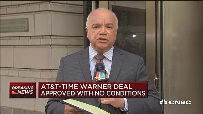 AT&T获准收购时代华纳 法庭现场一片沉默