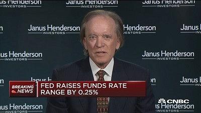 比尔•格罗斯:美联储年内至多再加息1次