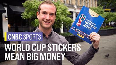 帕尼尼世界杯球星贴纸热销