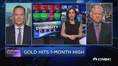 金价触及一个月高位 升势会否延续?
