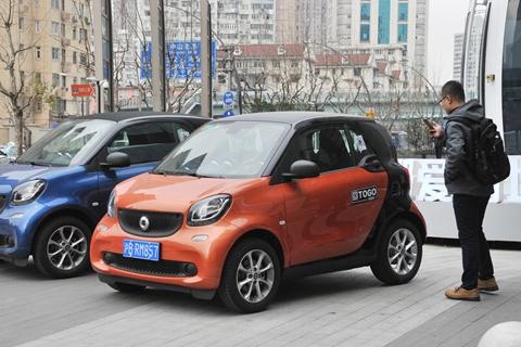 上海要求共享汽车加装人脸识别装置