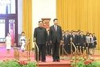 """习近平与金正恩会谈 高度评价""""金特会""""成果支持朝鲜经济发展"""