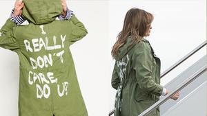"""""""我真的不在乎""""?美国第一夫人探访着装惹争议"""