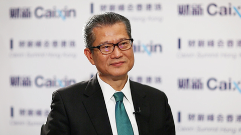 【财新时间】香港财政司司长陈茂波:香港会继续捍卫自由贸易原则