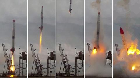 日本民企众筹发射火箭再失败 4秒即坠毁