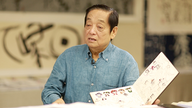 韩美林:中国尚缺乏自主设计的动漫形象