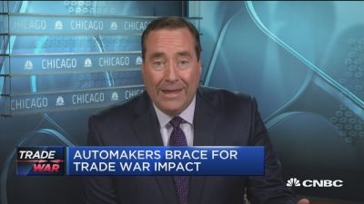 美国输华汽车关税增至40% 部分制造商称价格将上涨