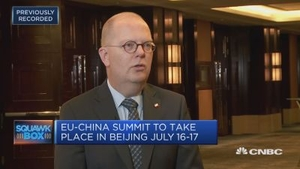 中国欧盟商会主席:美国动用关税的手段非常危险