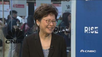 林郑月娥:致力为香港公民提供体面廉价的住房