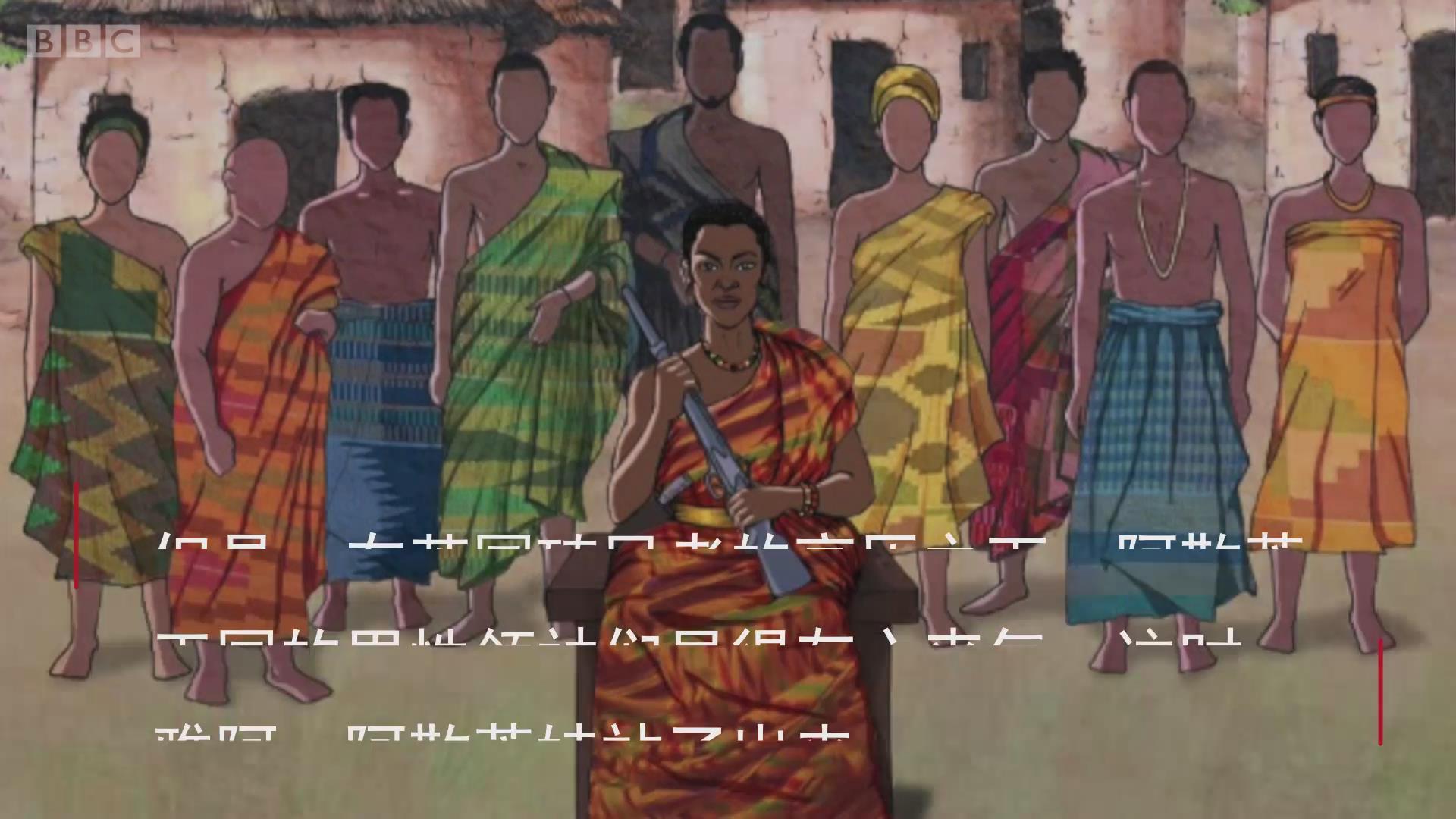 勇于反抗英国殖民者的加纳女性