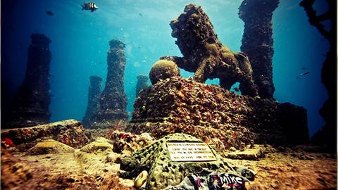 澳大利亚欲建水下墓地 骨灰可与建筑融为一体