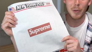 Supreme占领纽约邮报头版 报纸价格飙升数十倍