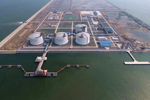 中石化进口液化气接收站拟扩产能超3倍