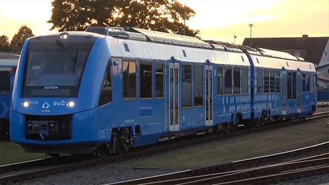 氢动力列车现世:全球首列在德国投入使用