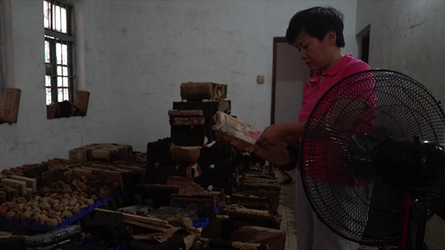 """""""山竹""""过后江水倒灌 广州芳村茶市场损失惨重"""