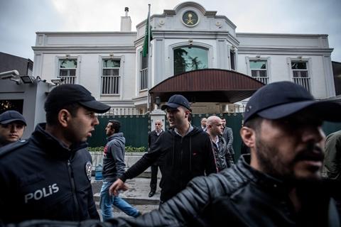 土耳其:沙特失踪记者被肢解 事发地墙面曾重刷