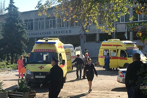克里米亚一所学校发生爆炸 至少10人死亡约50人受伤