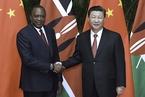 习近平会见肯尼亚总统 愿同肯方做好铁路项目可行性研究