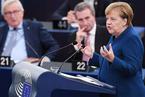 """默克尔赞同马克龙建立""""欧洲军队"""" 提议法德共推欧洲防务自主"""