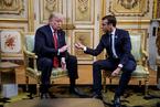马克龙回击特朗普奚落 称法国是美国的盟友而非附庸
