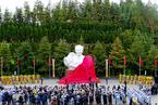 胡耀邦塑像日前于湖南浏阳揭幕