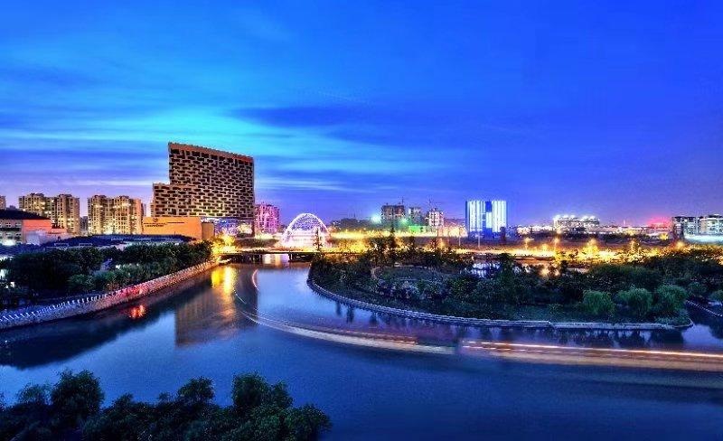 菊园北水湾夜景
