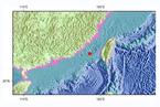 台湾海峡产生6.2级地动,震源深度20千米