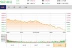 今日收盘:科技类股领跌 沪指震荡跳水跌1.32%