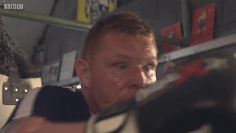 盲人拳击手
