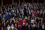 美新国会宣誓就职 民主党重掌众议院