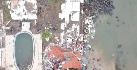破坏力巨大的印尼海啸