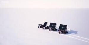试图跨越南极洲的太阳能车
