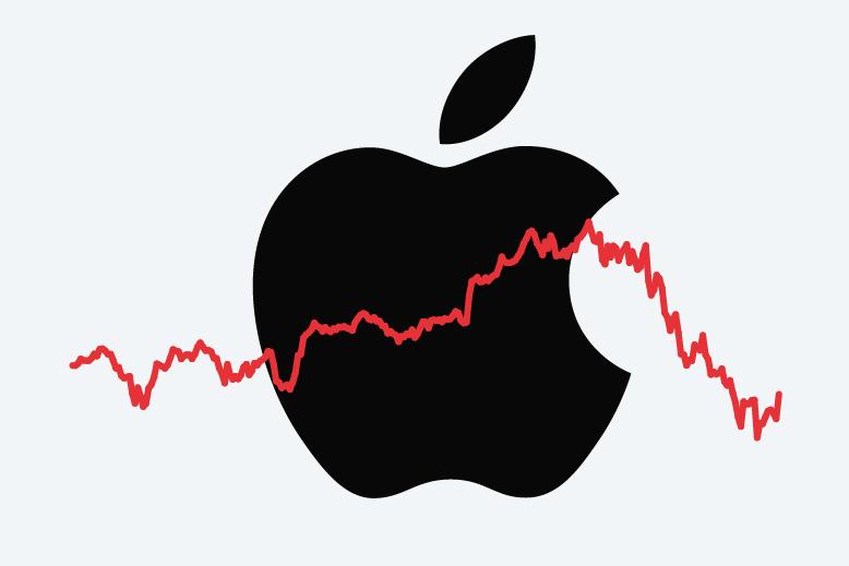 股价暴跌销量下滑 苹果怎么了?