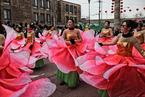 芝加哥华人举行新年游行 庆祝春节