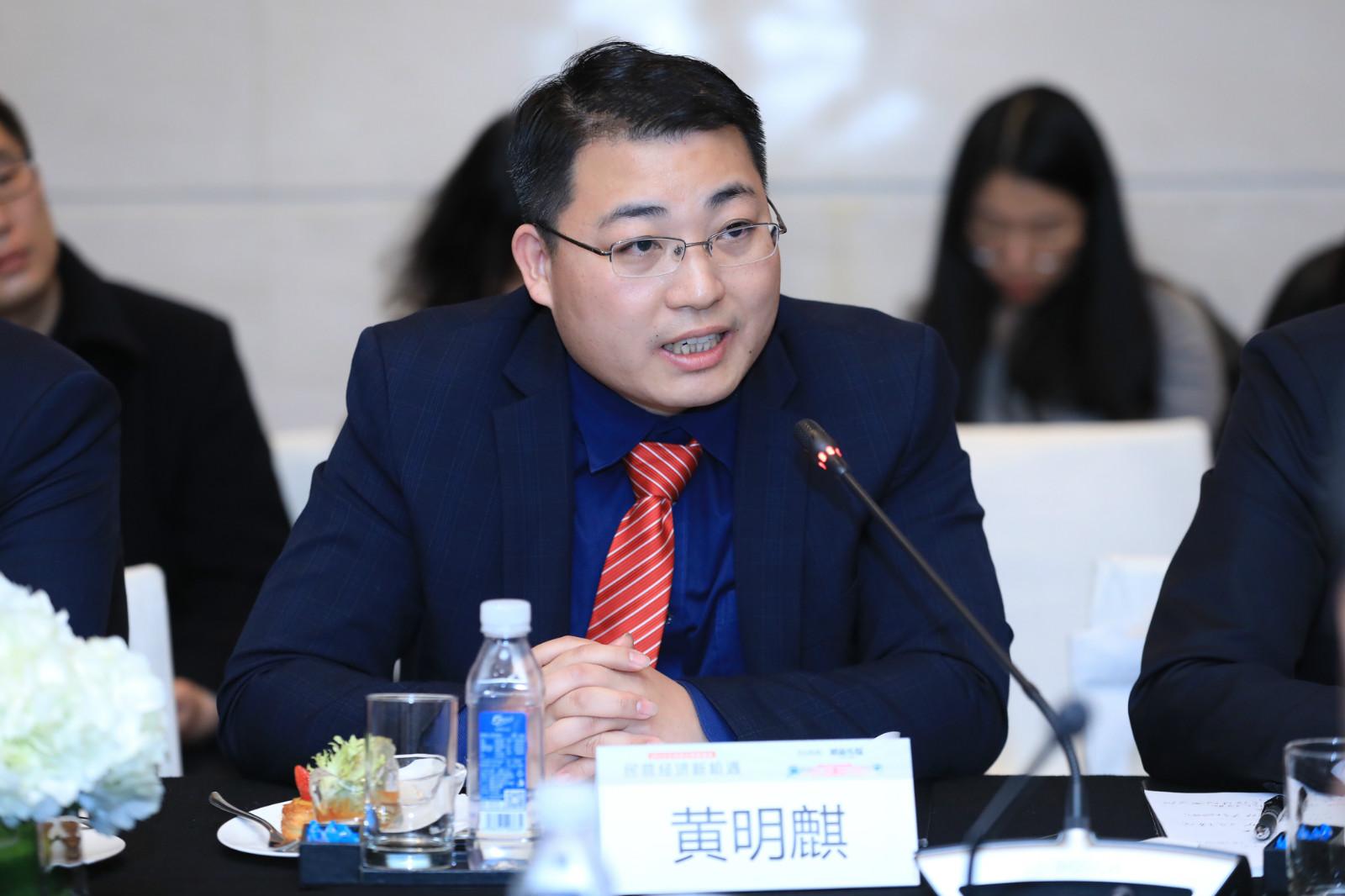 基岩资本总裁黄明麒