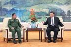 习近平会见缅甸国防军司令 望缅方强化边境管理共维边境稳定