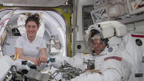 首个女性太空行走计划为何半途而废?