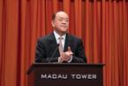 贺一诚宣布初步决定参选澳门特区第五任行政长官
