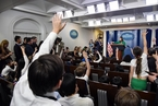 """国风 欢迎来到白宫简报室""""博物馆"""""""